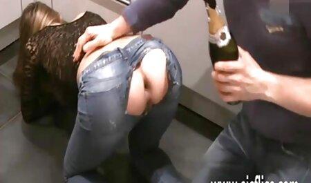 MILF بریجیت B پس فیلم سکسی زنان دوجنسه از استمنا با شوهرش رابطه جنسی برقرار کرد